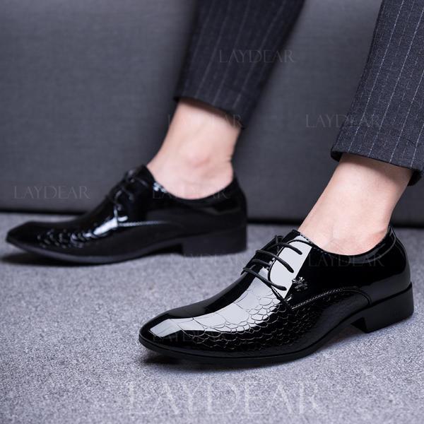 7fc0d4595c06 Menn Latin moderne stil Flate sko Microfiber Lær moderne stil ...