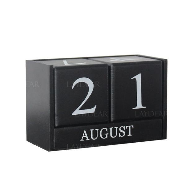 Us 799 Prosty żywica Kalendarz Przedmioty Dekoracyjne Laydear