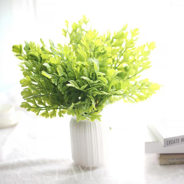 Alvorlig PVC Kunstig Grønn (sett av 3) (280185107) - Kunstige Blomster QB-88