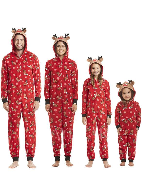 Christmas Pajamas.Us 19 99 Deer Family Matching Christmas Pajamas Laydear