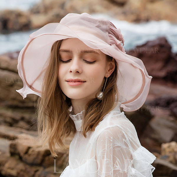 59b94ccda [US$ 54.99] Ladies' Glamourous/Classic/Nice/Romantic Silk Floppy Hats/Tea  Party Hats - Laydear