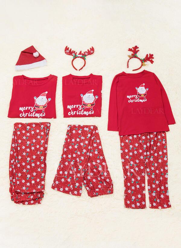 Christmas Pajamas.Us 19 99 Santa Family Matching Christmas Pajamas Laydear