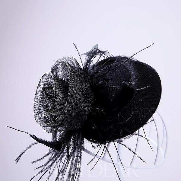 Elegant Feder/Tüll Kopfschmuck/Tea Party Hüte