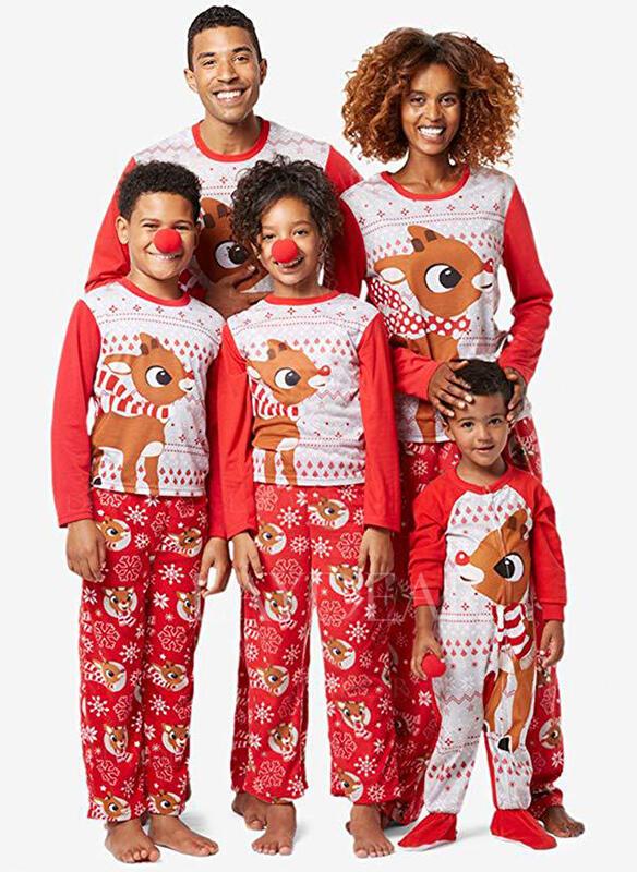 Matching Christmas Pjs.Us 12 99 Deer Family Matching Christmas Pajamas Laydear