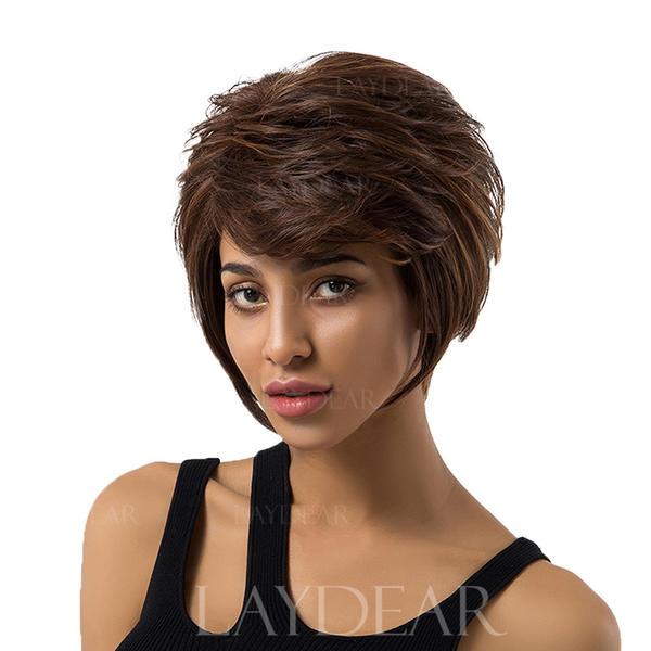 Creţ Lăsat Păr Natural Peruci Din Păr Natural 219179051 Peruci