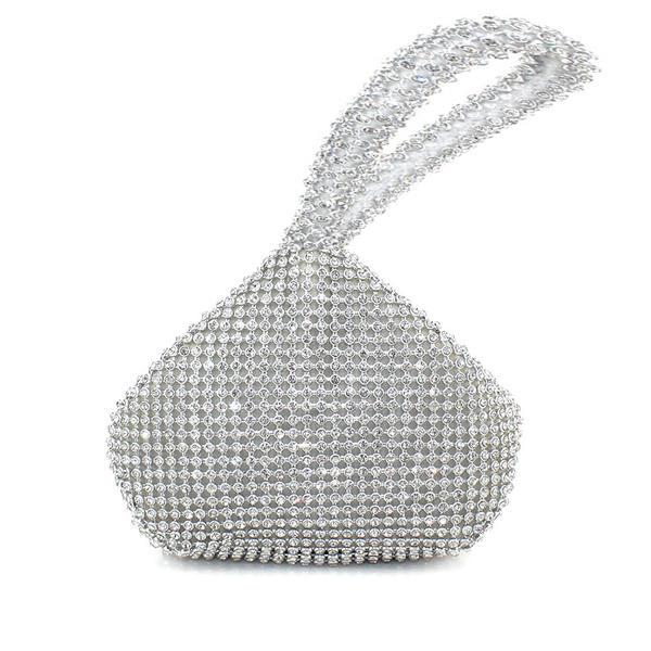 Glänzende Satin Handtaschen/Braut Geld-Beutel/Geldbörsen & Wristlet Taschen