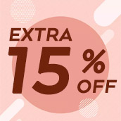 Save Exclusive 15% OFF on Your Purchase!