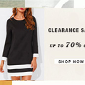 CLEARANCE SALE: UP TO 70% OFF