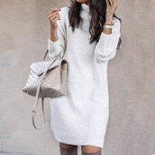 Embrace the chill in our lastest cozy-chic sweater dresses