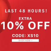 48 HOURS Only. Exclusive 10% Off!