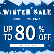 WINTER SALE! Huge season discount starts now!