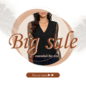 Autumn biggest sale!!! Waiting for you...