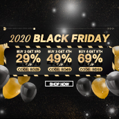 2020 BLACK FRIDAY : UP TO 69% OFF