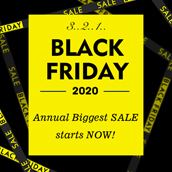 ✂️BLACK FRIDAY✂️ Annual Biggest SALE starts NOW!