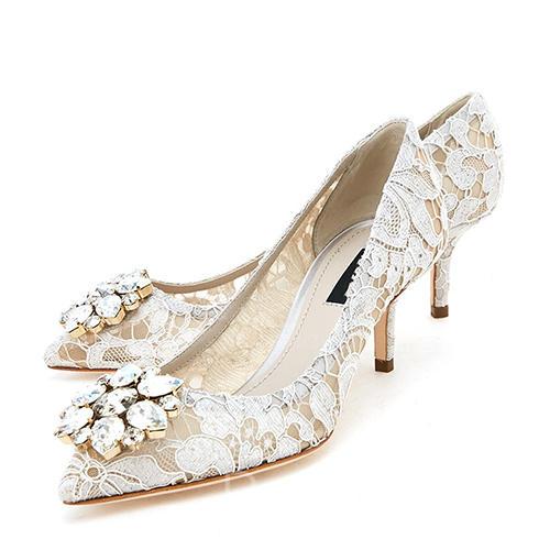 2543816c Tacón De Stilettos Mujer Para En Encaje Zapatos La Cerrados Boda fYb6y7g