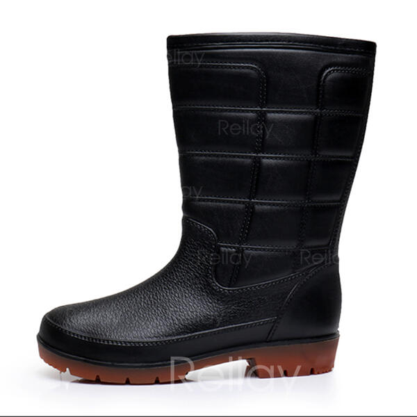 74e01ffc7 [US$ 13.99] Regn støvler Avslappet PVC Menn Boots til herre - reilay