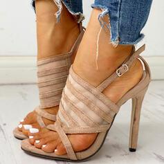 Vrouwen Suede Stiletto Heel Pumps met Gesp schoenen