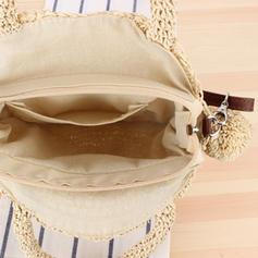 Braided Paper Rope Shoulder Bags/Beach Bags
