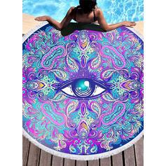 Retro /Vendimia atractivo toalla de playa