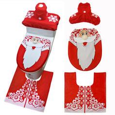 Snømann nisse jul Klut Toalett setetrekk