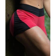 Color Block Sports Shorts