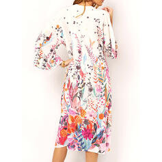 Floral Print Boho Cover-ups Swimsuits