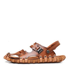 Men's Casual Microfiber Leather Men's Sandals