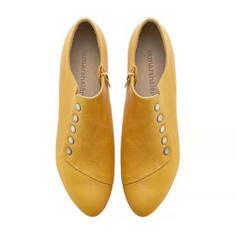 De mujer PU Tacón ancho Botas al tobillo con Otros zapatos