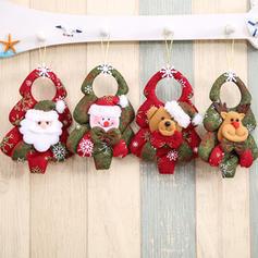 Bałwan Renifer Święty Boże Narodzenie Wiszące Włóknina Lalka Świąteczny wystrój