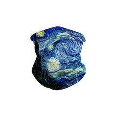 Máscaras/Estampado/Face Bandana/Lenço Mágico/Balaclava Headwrap Protetora/Cobertura total/Multifuncional/Sem Costura/Prova de poeira Bandanas