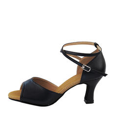 Women's Real Leather Latin Dance Shoes