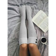 Einfarbig Atmungsaktiv/Komfortabel/Damen/Calf Socks Socken/Strümpfe Socken
