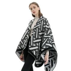 Geometric Print Oversized/attractive
