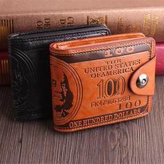 Vintage Embossed Horizontal Wallet Card Holder Purse