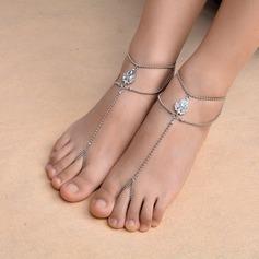 Rhinestone Foot Smykker (Selges i ett stykke)