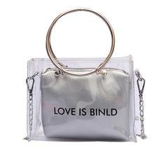 Transparent PVC Shoulder Bags/Wallets & Wristlets