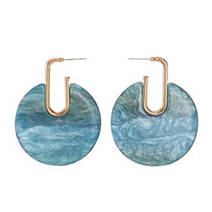 Fashionable Acrylic Women's Earrings
