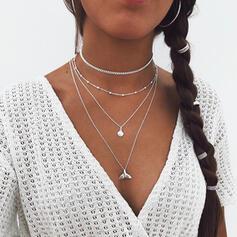 Krásný Módní Sexy Slitina Náhrdelníky Plážové šperky