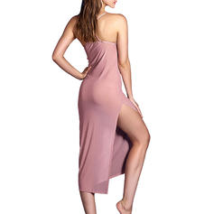 Polyester Couleur unie Nuisette