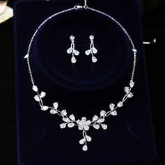Unique Rhinestones Women's Jewelry Sets (Set of 3)