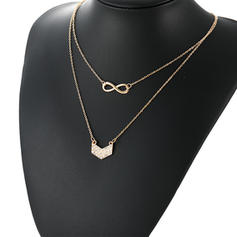 Stylish Alloy Women's Fashion Necklace (Sold in a single piece)