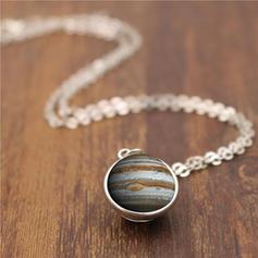 Unique Chic Alloy Glass Necklaces