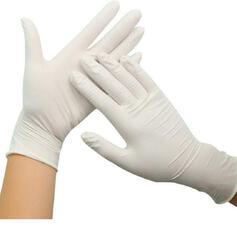 Koruyucu tek kullanımlık Çok fonksiyonlu Emülsiyon eldiven (100 Set)