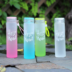 Modern Classic Simple Glass Water Bottles/Travel Tumblers