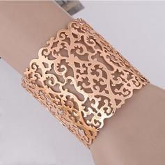 Fashionable Alloy Women's Bracelets (Sold in a single piece)