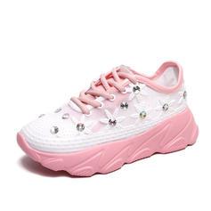 Pentru Femei PU Casual Afară cu Lace-up pantofi