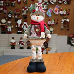 Christmas Snowman Reindeer Santa Cotton Doll Christmas Ornements