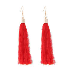 Unique Alloy With Tassels Ladies' Fashion Earrings