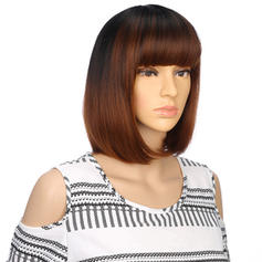 Straight Synthetic Hair Capless Wigs 150g