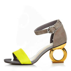 Women's PU Low Heel Pumps With Buckle shoes